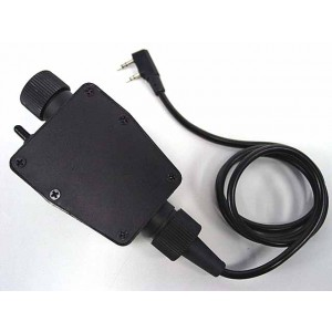 Element TEA Headset PTT for Kenwood 2 Pin Radio - Z116