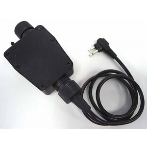 Element TEA Headset PTT for Motorola 2 Pin Radio - Z116