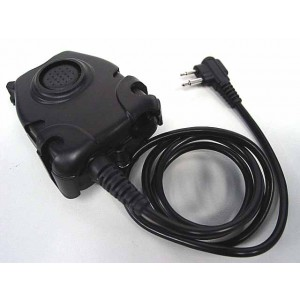 Element Peltor Headset PTT for Motorola 2 Pin Radio - Z112(EX112 )