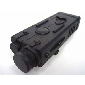 Jing Gong (JG) MP5 PEQ Style Battery Case Box w/ RIS Mount
