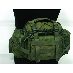 Molle Utility Gear Assault Waist Pouch Bag OD