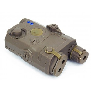 BATTLEAXE AN/PEQ 15 Style Battery Case Box Tan w/ RIS Mount