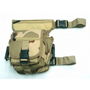 Drop Leg Utility Waist Pouch Carrier Bag Desert Camo
