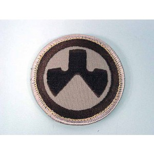 MAGPUL Round Shape Logo Velcro Patch Tan