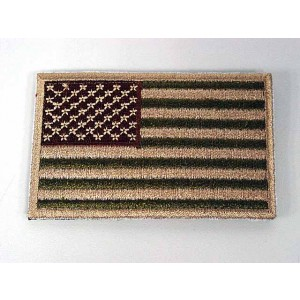US United States USA Flag Velcro Patch Multi Camo