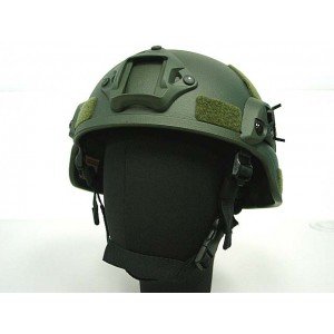 MICH TC-2000 ACH Helmet with NVG Mount & Side Rail OD
