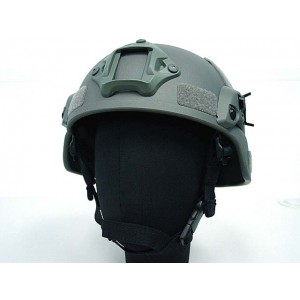 MICH TC-2000 ACH Helmet with NVG Mount & Side Rail ACU