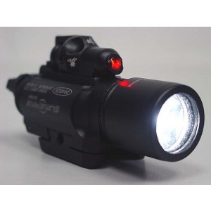 X400 Type CREE LED Flashlight Weaponlight & Red Laser