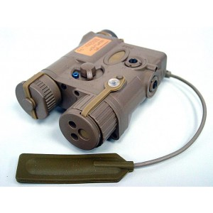 Element AN/PEQ-16A Pointer Illumunator Aiming Flashlight Tan - EX176