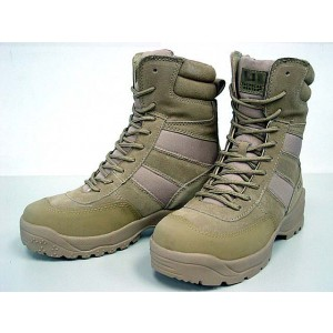 "5-11 Style 9"" Tactical HRT Urban Boots Tan"