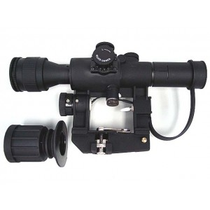 4x26 SVD Red Illuminated Rifle Sniper Scope
