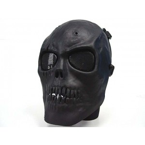 Army of Two Skull Full Face Airsoft Protector Mask Black