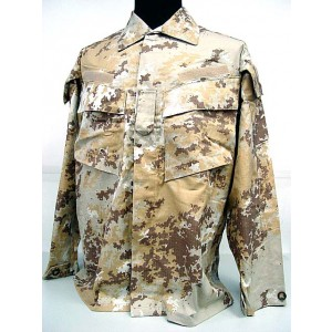 Italian Army Digital Desert Camo BDU Uniform Set