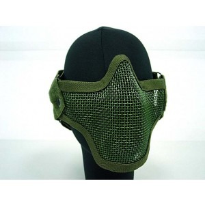 Black Bear Airsoft Stalker Style Shadow Mesh Mask OD