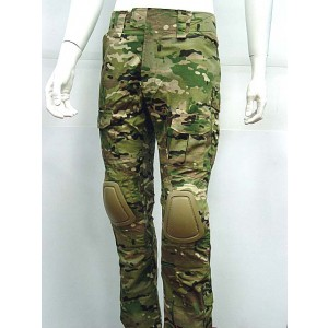 CP Gen 2 Style Tactical Combat Pants with Knee Pads Multi Camo