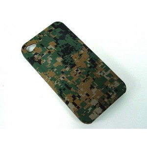 Silverback Camo Case for Apple iPhone 4 Marpat Woodland