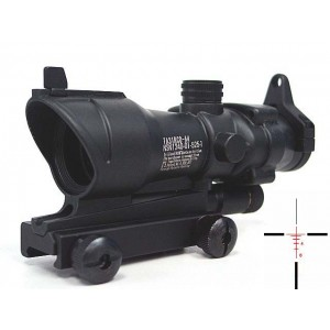 ACOG Type TA01NSN 4x32 Red & Green Illuminated Cross Sight Scope