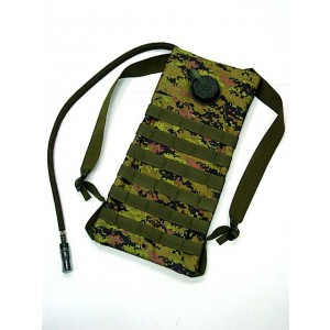 Molle 3L Hydration Water Backpack CADPAT Digital Woodland Camo