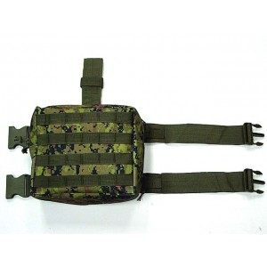 Molle Drop Leg Panel Utility Waist Pouch Bag CADPAT Digital Camo