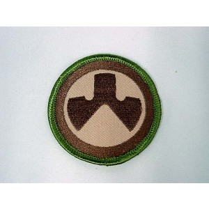 MAGPUL Round Shape Logo Velcro Patch Dark Multi