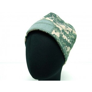 Velcro Attachment Watch Cap Hat Digital ACU Camo