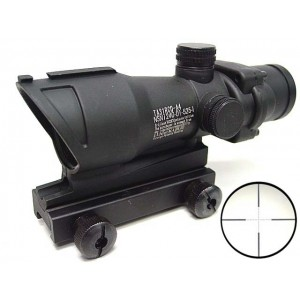 ACOG Type TA01NSN 4x32 Cross Sight Scope w/QD 11 & 20mm Mount #B