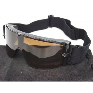 USMC Airsoft X800 Tactical Goggle Glasses GX1000 Brown