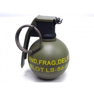 Big Dragon M67 Grenade Type Airsoft Gas Charger Green
