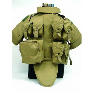 OTV Body Armor Carrier Tactical Vest Coyote Brown