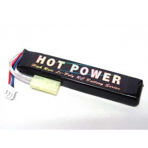 Hot Power 7.4V 1100mAh 15C Li-Po Li-Polymer Battery