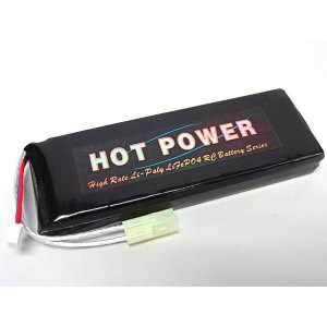 Hot Power 7.4V 4400mAh 20C Li-Po Li-Polymer Battery