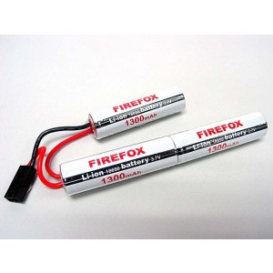 Firefox 11.1V 1300mAh Li-ion Airsoft CQB/R Battery