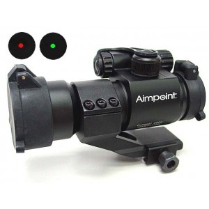 Comp M2 Type Red Green Dot Sight Scope w/Cantilever Mount