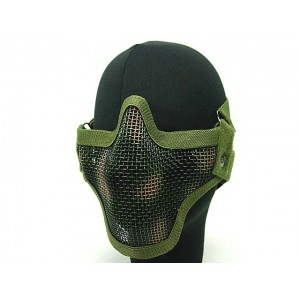 Black Bear Airsoft Stalker Style Shadow Mesh Mask Woodland Camo