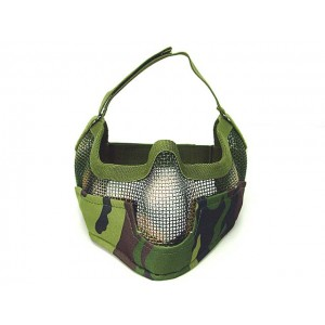 Black Bear Airsoft Stalker BAT Style Raider Mesh Mask Army Camo