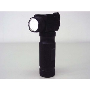 Tactical CREE Q3 200 Lumens Aluminum Foregrip Grip Flashlight