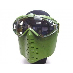Pro-Goggle Full Face Mask with Fan Ventilation OD