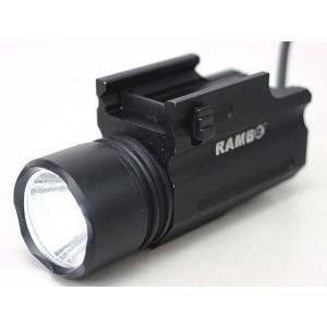 Airsoft Tactical CREE LED Pistol Flashlight w/Pressure Switch