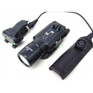 X300 Type 190 Lm CREE LED Tactical Flashlight Weaponlight T1000