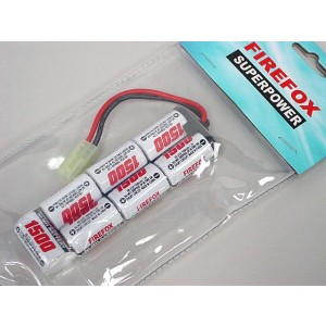 Firefox 8.4V 1500mAh Ni-MH Airsoft AEG RC Mini Battery