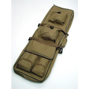 "48"" Dual Rifle Carrying Case Gun Bag Coyote Brown"