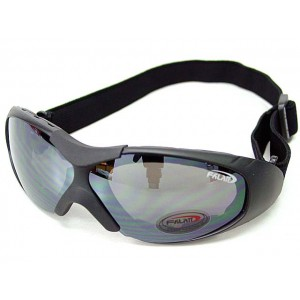 Tactical Airsoft Sport Style Goggle Safety Glasses Black #B