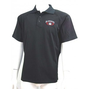 Blackwater Logo Short Sleeve Polo Shirt Black