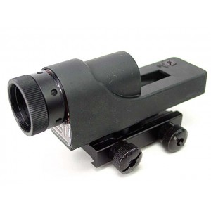 1x24 Airsoft Red Dot Sight Reflex Scope with Polarizing Filter