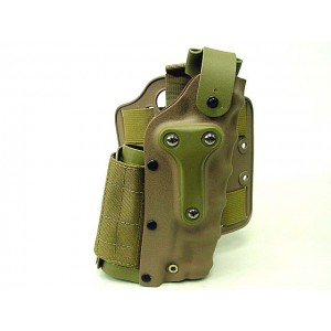 SFL 3085 Style Beretta M9/92F Drop Leg & Belt Holster Tan