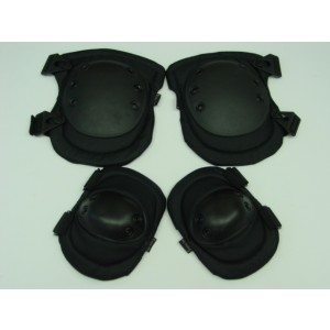 MIL FORCE Advanced Tactical Knee & Elbow Pads Black
