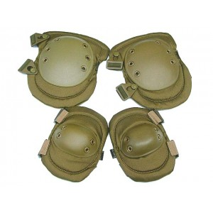 MIL FORCE Advanced Tactical Knee & Elbow Pads Tan