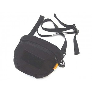 Utility Gear Shoulder Waist Sling Bag Black