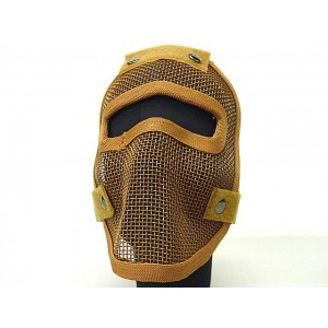 Black Bear Airsoft Assassin style Reaper Mask Brown