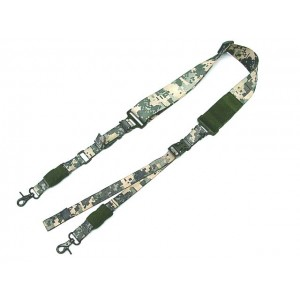 Big Dragon Single/Two Point Urban Rifle Sling Digital ACU Camo